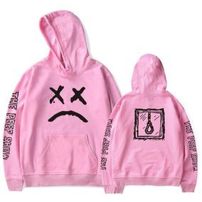 Blusa Moletom Lil Peep The Peep Show Emo Sad 7da48aa9c9e
