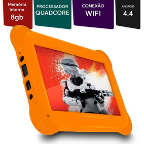 Tablet Disney Starwars Tela 7 Wi-fi Adroid 4.4 Câm 2mp 8gb