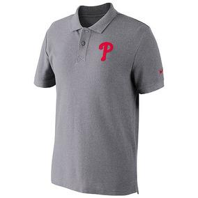 Playera Nike Cuello Tipo Polo De Algodón Mlb Philadelphia Xl 3582dda5ec0ba