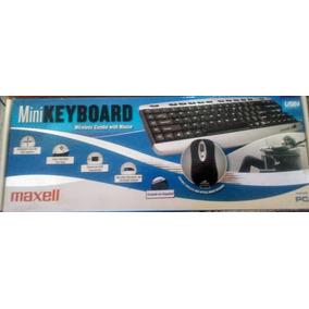 Combo Teclado Mouse Inalambrico Excelente Modelo Maxell