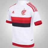 Camisa adidas Flamengo Oficial Branca Away S12938 Masculina