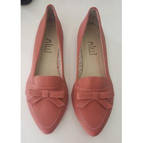 bdf5b74ae Sapatilhas Milli Revenda Atacado - Sapatos para Feminino Coral no ...