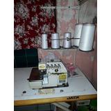 Maquina De Coser Overlock Jack Industrial 5 Hilos