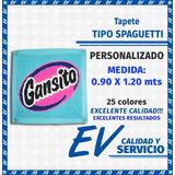 Tapete Tipo Spaguetti Personalizado (0.9 X 1.20) 25 Colores