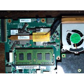 Placa Notebook Sim+ S-3230 + Proc + Cooler + 2gb De Memoria