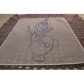 Talagarça Desenhada Olaf Frozen 74/86 Cm