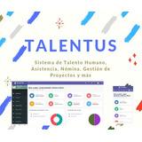 Sistema Talento Humano, Nómina, Asistencia, Tareas Y Más