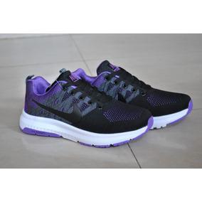 Kp3 Zapatos Nike Air Zoom Negro Purpura Para Damas