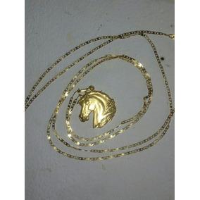 Cordão De Ouro 18k 70cm +pimgente Peso Total 3,6 Gms