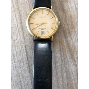 0b2ce1dd854 Relogio Mido Ocean Star Ouro - Relógios no Mercado Livre Brasil