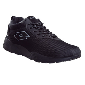Tenis Lotto Caballero Originales Black Sport