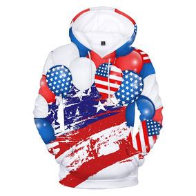 5d6c225a2c Blusa De Frio Moletom 3d Full Estados Unidos Eua America