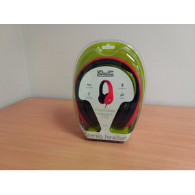 Audifono Plegable Color Rojo Frantic Beats Klip Xtreme