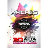 Posters Y Logotipos 3d