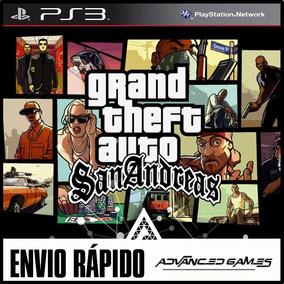 Gta Grand Theft Auto San Andreas Hd Jogos Ps3 Midia Digital