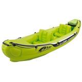 Bote Inflable Para 2 Personas Kayak Con Accesorios Ecology
