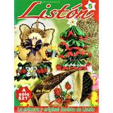 Revista De Listón No. 5 - Tapete - Esfera - Árbol De Navidad