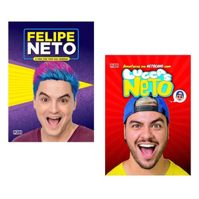 Kit 2 Livros Irmãos Neto - Felipe Neto E Luccas Neto