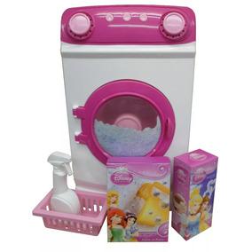 Lavarropas Glam Princesas Miniplay Original Casa Valente