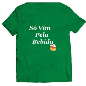 16285334c Camiseta Com Frases Bebidas - Camisetas Manga Curta no Mercado Livre ...