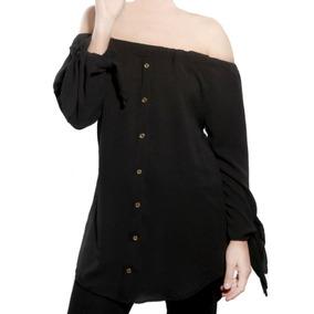 0f15c7fb5 Camisa Negra De Mujer Camisas Chombas Blusas Rio Negro - Ropa y ...