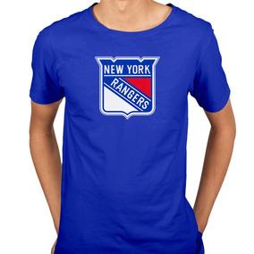 Camiseta New York Rangers Nhl Hockey No Gelo 2bef7341c9c53