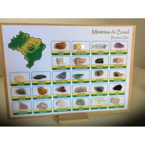 Coleção Minerais E Rochas Do Brasil - 26 Amostras