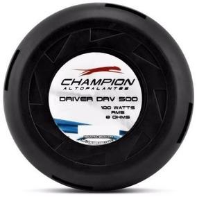 Kit 02 Driver Champion Drv 500 100w Rms