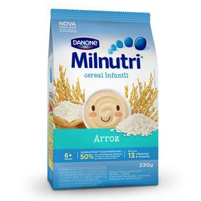 Kit 5 Cereal Infantil Sabor Arroz Milnutri Danone Pa/ 230g