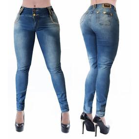 Calça Jeans Feminina Pitbull Pit Bull Levanta Bumbum