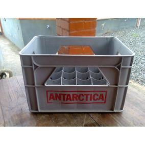 Engradado Antigo De Refrigerante Antartica
