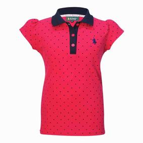 Playera Marca Polo Tipo Polo Color Rosa Op4 Gratis Original - Ropa ... 1e0f202a81a83