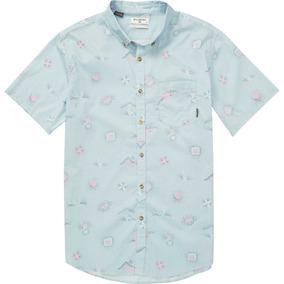 Camisa M/c Billabong Sundays Mini Ss Celeste Hombre
