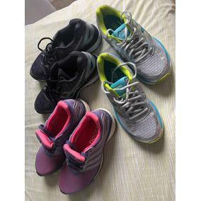 Tênis adidas E Asics