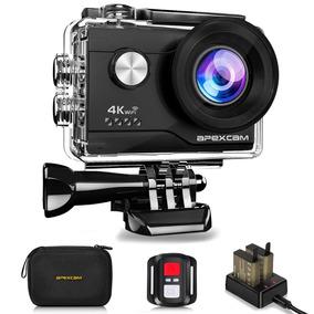Camara Apexcam 4k, 16 Mp, Zoom 4x, Wifi, Water Proof Uhd