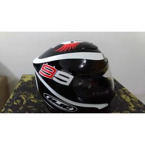 Capacete Hjc Cl St Spartan Jorge Lorenzo - Acessórios para Veículos ... 376803cc32f
