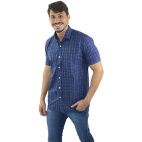 Camisa Crosby Manga Curta Xadrez - Não Perca