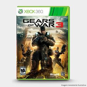 Gears Of War 3 - Original Xbox 360 Novo