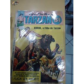 Tarzan-bi Nº 16 Korak O Filho De Tarzan Editora Ebal P/b
