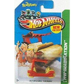 Hot Wheels The Flintmobile Laranja