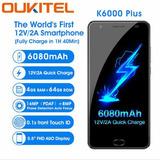 Oukitel K6000 Plus 64gb 4gb Ram - Pronta Entrega - Black