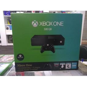 Xbox One Com 1 Controle E 3 Jogos A Sua Escolha
