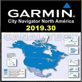 Atualização Mapa Garmin America Do Norte 2019.30 Nova Versão