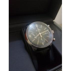 496a1cd0f7c Relógio Bulova Suíço Accu Swiss 63c115 Pulseira De Couro