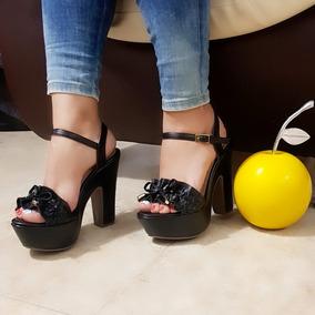 Sandalia De Mujer Plataforma Envio Gratis