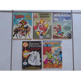 Grandes Herois Marvel ( Lote 05 Gibis )