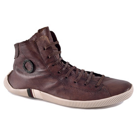 Sapato Bota Tenis Sapatenis Couro Original