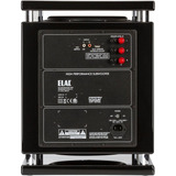 Elac - Powered Subwoofer - High-gloss Black