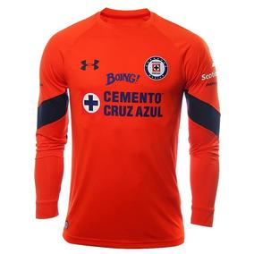 Suéter Portero Cruz Azul 2017 Naranja ¡original! Para Hombre 9c17fdff54ffc