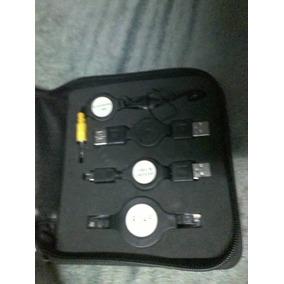 Kit Usb Viajero Hub Usb 4 Puertos Cable Mini Usb Rj45